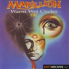 "Cover art Marillion single ""Warm Wet Circles"""
