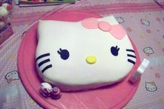 Hello Kitty I made for my daughter's 1st birthday