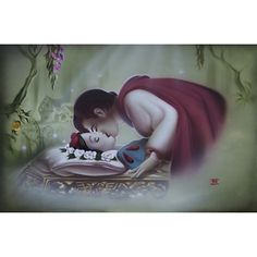 Snow White ''True Love's Kiss'' Giclée by Noah