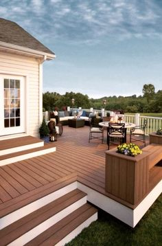 Would love a deck like this in Arizona! This deck is beautiful.