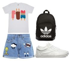 """Untitled #374"" by sannasprofil ❤ liked on Polyvore featuring Paul & Joe Sister, Vans and adidas Originals"