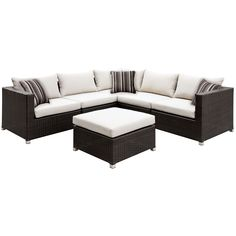 Furniture of America Stella 2-Piece Outdoor Sectional Set | Overstock.com Shopping - The Best Deals on Sofas, Chairs & Sectionals