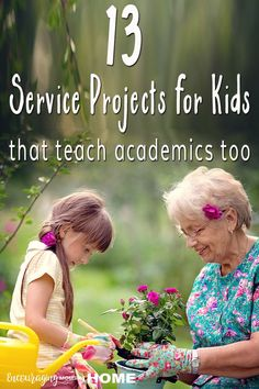 13 service projects for kids that teach academic skills Service Projects For Kids, Community Service Projects, Community Project Ideas, Community Helpers, Reggio, Service Club, Service Ideas, Service Learning, Student Council