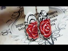 Золотая объемная роза. Гель желе AS 3D Jelly colour - YouTube