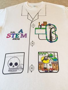 FULL STEAM AHEAD with this $5 design-it wearable project from ScienceWear.  Great for Science classrooms, after-school programs, science museums, STEM Camps, or even science birthday parties!  Order Science Tuxedo at http://sciencewear.net/ordering-info.html