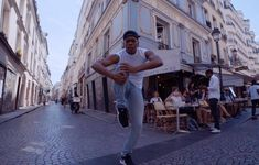 Just Dance: Alvin Ailey dancers on Rue Montorgeuil in Paris Cgi, In His Steps, Alvin Ailey, Shopping Street, Just Dance, Short Film, Dancers, Art Direction, Music Videos