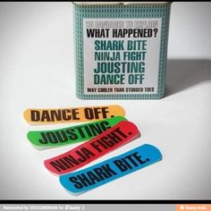 Considering I get cuts on my fingers from paper cuts and cutting fruit in the kitchen, I need these.