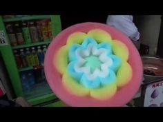Specialised Cotton Candy Maker -- Only In China - YouTube