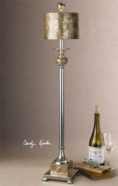 Uttermost Pearl Silver Buffet Lamp