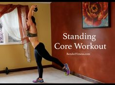 15 Minute Standing Ab Workout: No Crunch Core Exercises