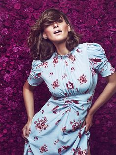 Pia Tjelta byTiMo - the Lilly Dress Beautiful Outfits, Cool Outfits, Gorgeous Hair, Everyday Fashion, What To Wear, Wrap Dress, Fashion Dresses, Short Sleeve Dresses, Fashion Design
