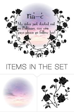 """""""Please go follow her!"""" by piper-chauhan ❤ liked on Polyvore featuring art"""