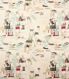 St Ives Fabric / Sea Spray