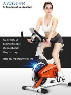 Xe đạp tập thể dục Fitness 615, xe đạp tập phòng GYm chính hãng Tech Fitness, xe đạp tập thể hình tại nhà và phòng tập giá rẻ tại Tâm Chính Sport