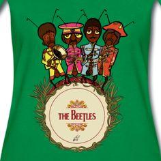 """maglietta """"the beatles"""" by Veronica Carratello"""