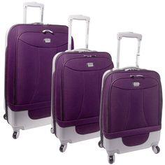 acf7f8193a Samsonite Pink Luggage Set This Samsonite staple features four ...