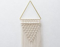 Handmade Wall Hangings and Plant Hangers by TeddyandWool on Etsy