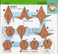 Origami+Coruja