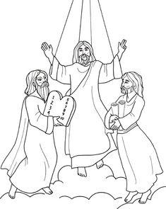 51 Best Transfiguration of Jesus images in 2019 ...