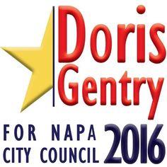 """Ladies and Gentlemen... Introducing the coolest campaign logo ever!"" Said Sandra Schulz #GeterDoneNapa"