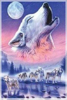 Spirit of the Wolves Cross Stitch Pattern***L@@K***$4.95 CLICK VISIT TO SEE PATTERN FORSALE