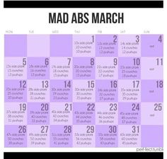 Mad Abs March.