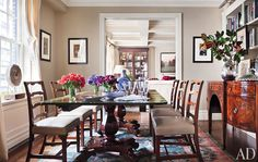 dinning room chairs and sideboard