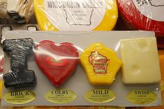 Different kinds of Wisconsin cheese | Angelo Talebi Reviews | Image source: Flickr.com