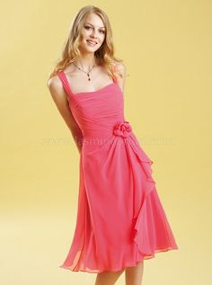 This would be a cute bridesmaid dress...in green, of course. :)