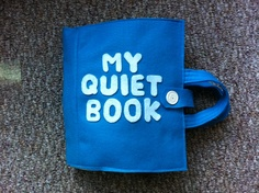 This is the coolest quiet book! Would love it for Christopher!