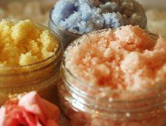homemade sugar scrubs