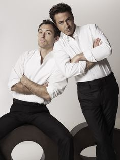 Jude Law and , Robert Downey Jr