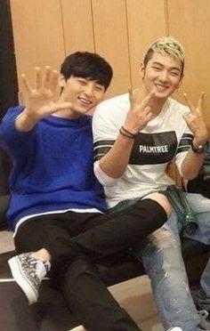 Baekmin (Baekho and Minhyun) NU'EST