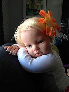 Blonde Reborn Arianna Toddler | eBay