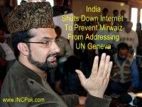 India Shuts Down Internet To Prevent Mirwaiz From Addressing UN Geneva