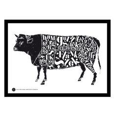 Cow poster – TGIOC – Köp online på Rum21.se