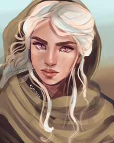 """334 Likes, 12 Comments - ~Sarah Moustafa~ (@smoustart) on Instagram: """"""""A man who fights for gold can't afford to lose to a girl."""" One of my favorite Dany quotes …"""""""