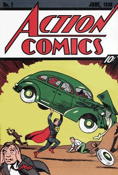 Action Comics Vol. 1 #1 | Community Post: 30 Animated Comic Book Covers That Are Downright Hypnotizing