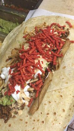 [found] This California Burrito Has Hot Cheetos And Rolled Tacos Inside I Love Food, Good Food, Yummy Food, California Burrito, Party Food Platters, Cheetos, Food Goals, Food Places, Football Food