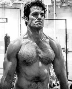 Henry Cavill and the workout that shattered my phone.
