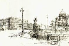 Конкурс рисунок с натуры / <span>drawing from nature</span>: работы   Конкурсы Archplatforma.ru