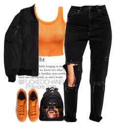 준비됐나요 by fuckedchanel on Polyvore featuring polyvore fashion style Komakino ASOS adidas Givenchy clothing
