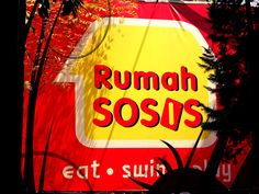 """Rumah Sosis (Sausage House) placed at Jl Setiabudi 295, Bandung, West Java.he theme of this place is """"Eat, Swim and Play"""". So this place not only sale the sausage only but also as a complete family vacation destination.  http://www.goindonesia.com/id/indonesia/jawa/bandung/makanan/restauran/rumah_sosis"""