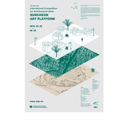 Architecture Competitions: Design Contests - e-architect Dm Poster, Poster Layout, Book Design, Layout Design, Design Art, Graph Design, Architecture Graphics, Japanese Graphic Design, Information Design