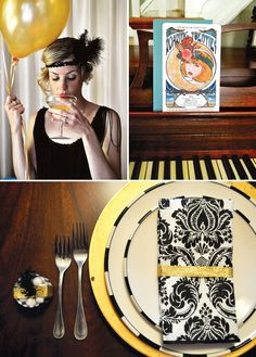 roaring-20s-party. Fun bridal shower