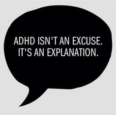 It has been estimated that Attention deficit hyperactivity disorder (ADHD) may occur in as many as 1 out of 7 American children. Adhd Odd, Adhd And Autism, Mantra, Adhd Quotes, Adhd Signs, Adhd Brain, Adhd Help, Adhd Strategies, Attention Deficit Disorder