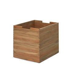 Cutter large låda - Cutter large låda - teak