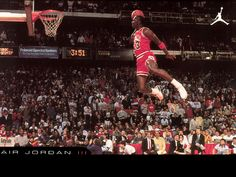 Sometimes, some people are just ridiculously gifted and a pleasure to watch in their element. Yep, Michael Jordan