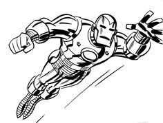 Iron man by Bruce Timm