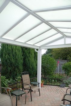 Patio Cover... perfect shade  Natural Light Patio Cover